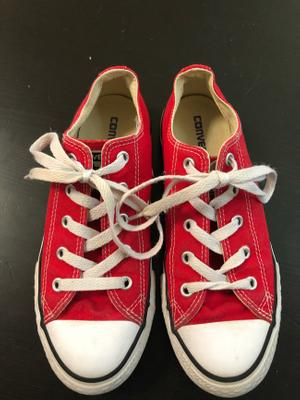 red converse on sale