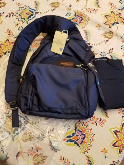 Nwt Pottery Barn Kids Ultimate Sling Diaper Bag W Changing