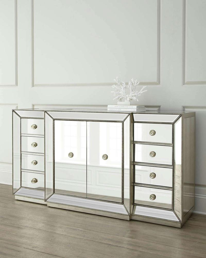 Z Gallerie Omni Mirrored Collection For