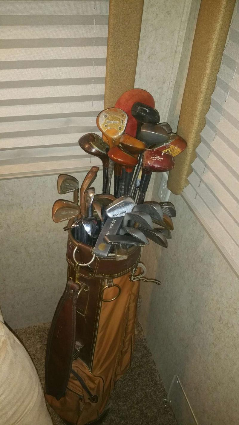 For sale old golf clubs Vintage Golf