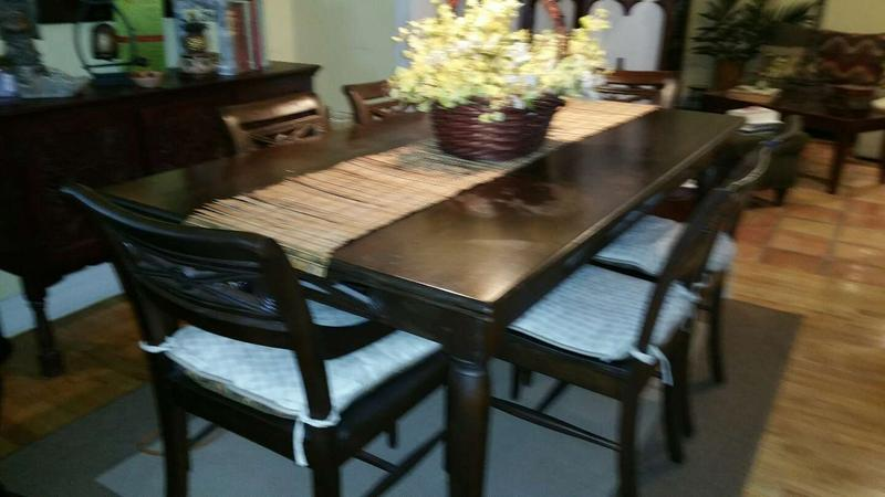 Pier One Imports Dining Table 6 Chairs, Pier One Dining Room Tables