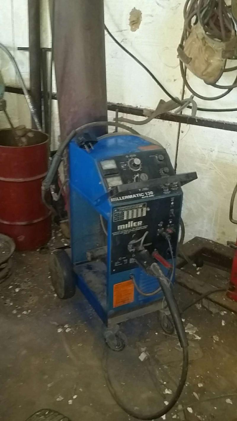 Millermatic 130 Auto Arc Welder Mig For Sale In Southlake Tx 5miles Buy And Sell