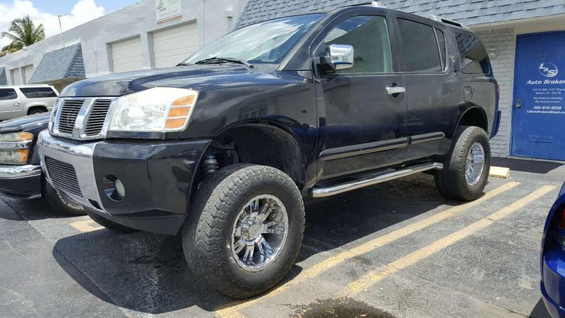 2006 lifted nissan armada for sale in miami fl 5miles buy and sell 2006 lifted nissan armada