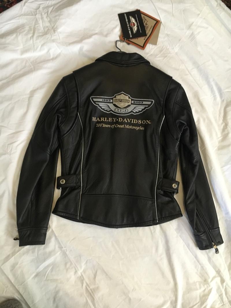 Photo 100th Anniversary Harley Davidson womens jacket