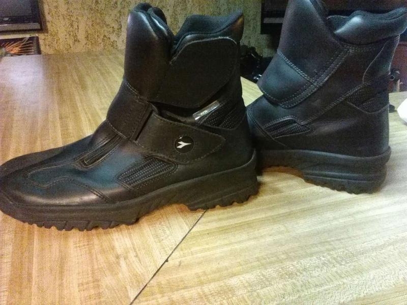 Diadora VeraTex Mens Motorcycle Boots
