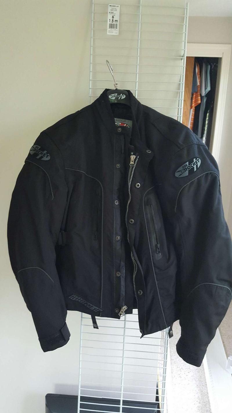 Photo Joe Rocket Motorcycle Jacket