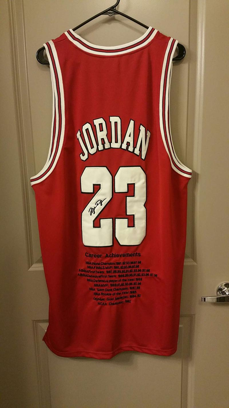 15 Year Old Nike Michael Jordan Achievement Jersey For Sale In San Antonio Tx 5miles Buy And Sell