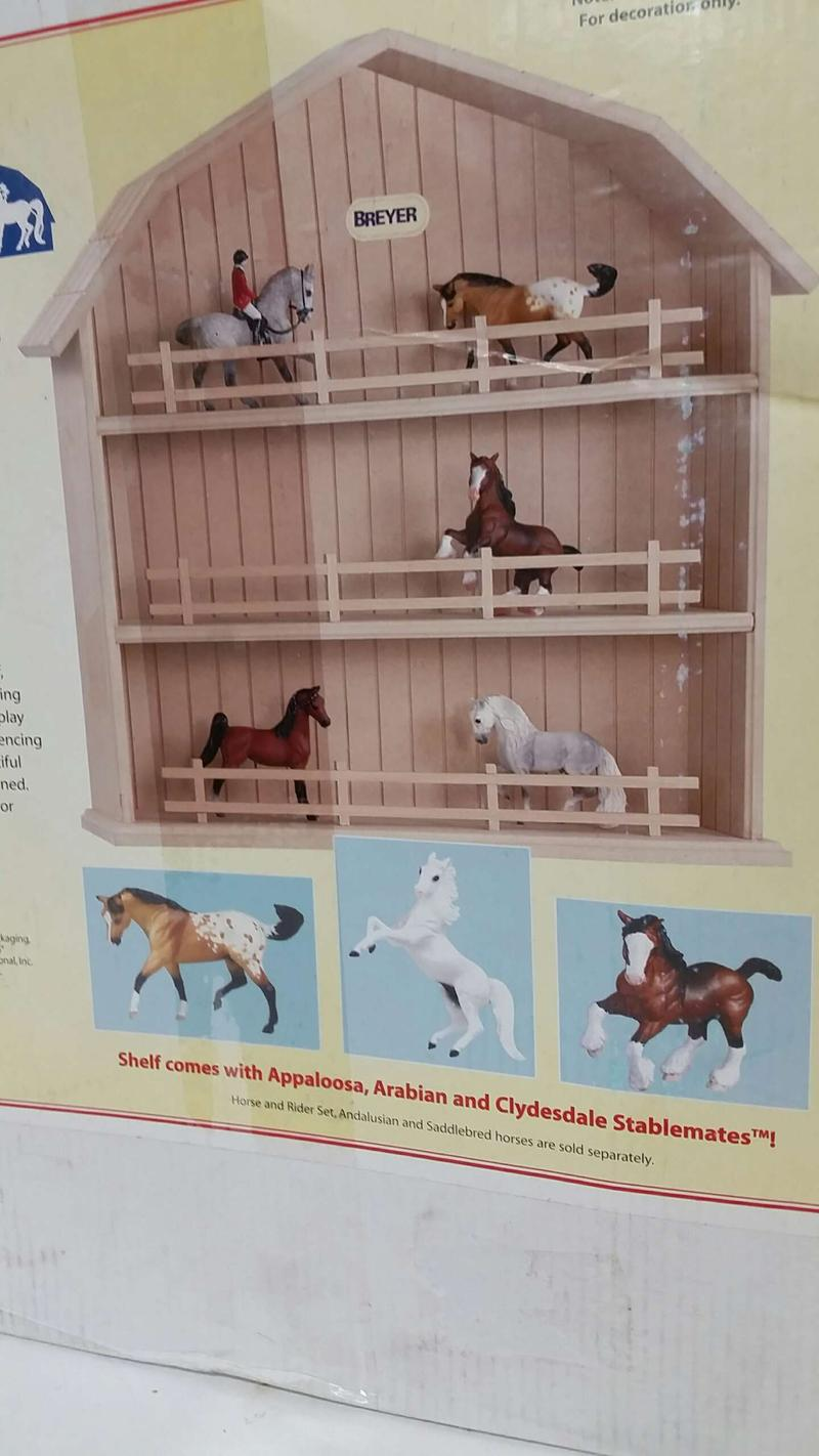 Breyer Stablemates Display Shelf New Retired 2002 For Sale In Garland Tx 5miles Buy And Sell