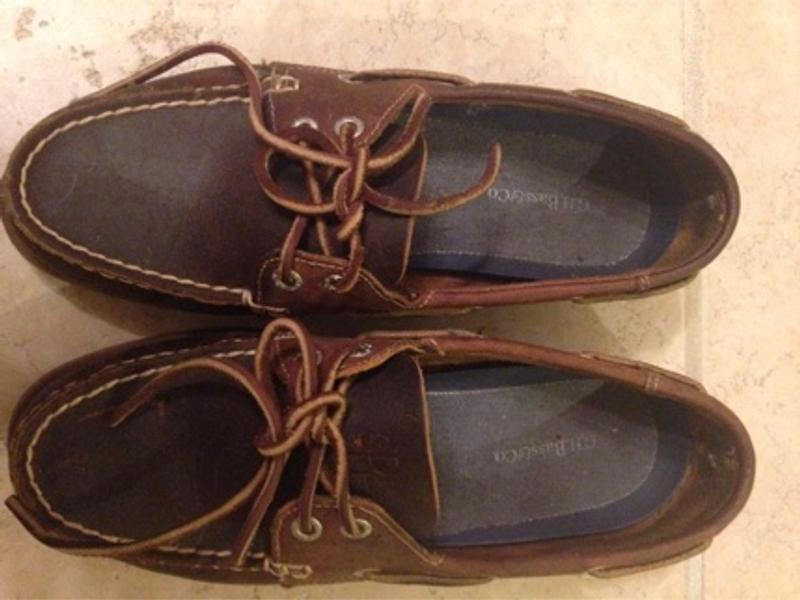 Men's Leather G.H. Bass Boat Shoes for