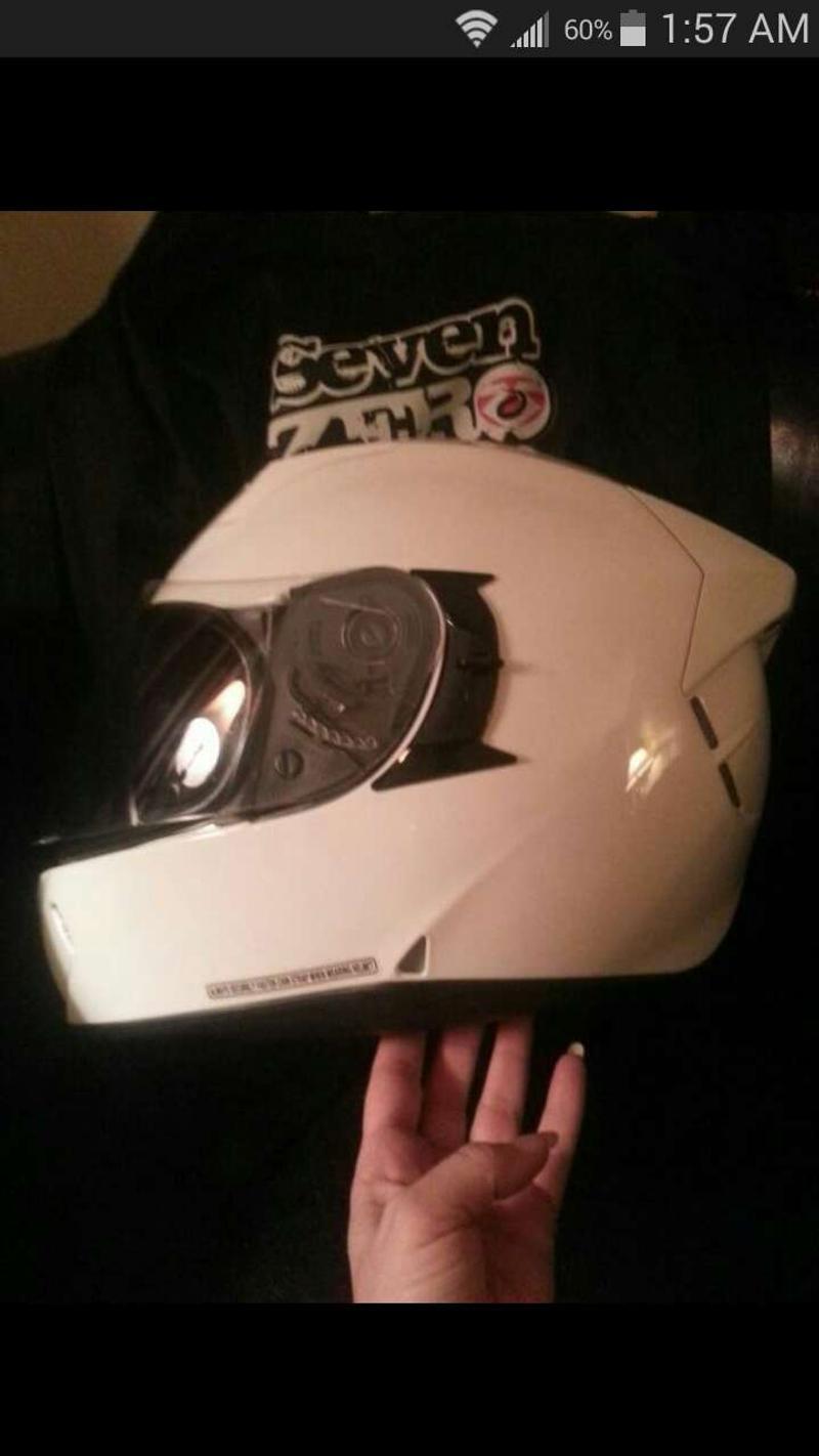 Photo Seven Zero Seven Motorcycle Helmet S