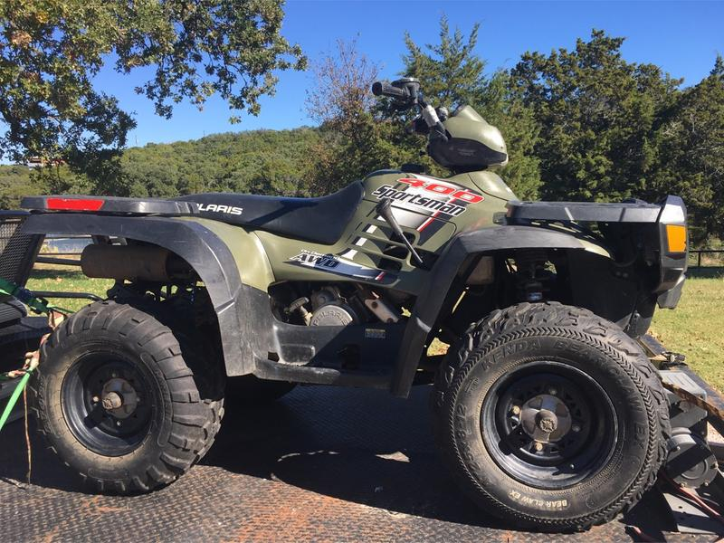 2004 Polaris Sportsman 400 Atv 4 Wheeler For Sale In