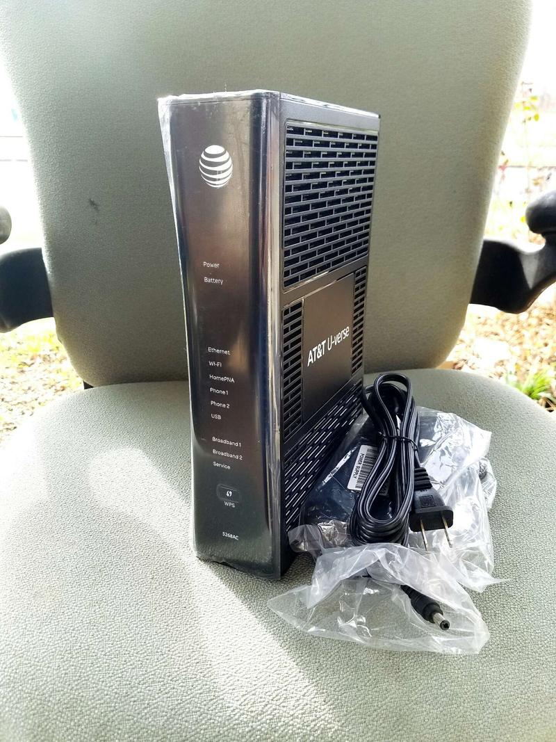 At T U Verse 5268ac Modem Router For Sale In Austin Tx 5miles Buy And Sell