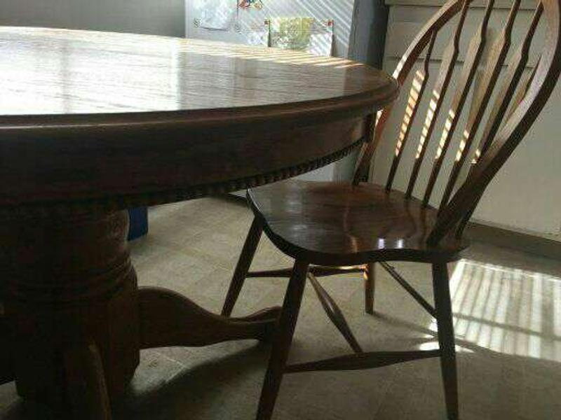 Antique Oak Dining Table Claw Feet 4 Chairs For Sale In Vacaville Ca 5miles Buy And Sell