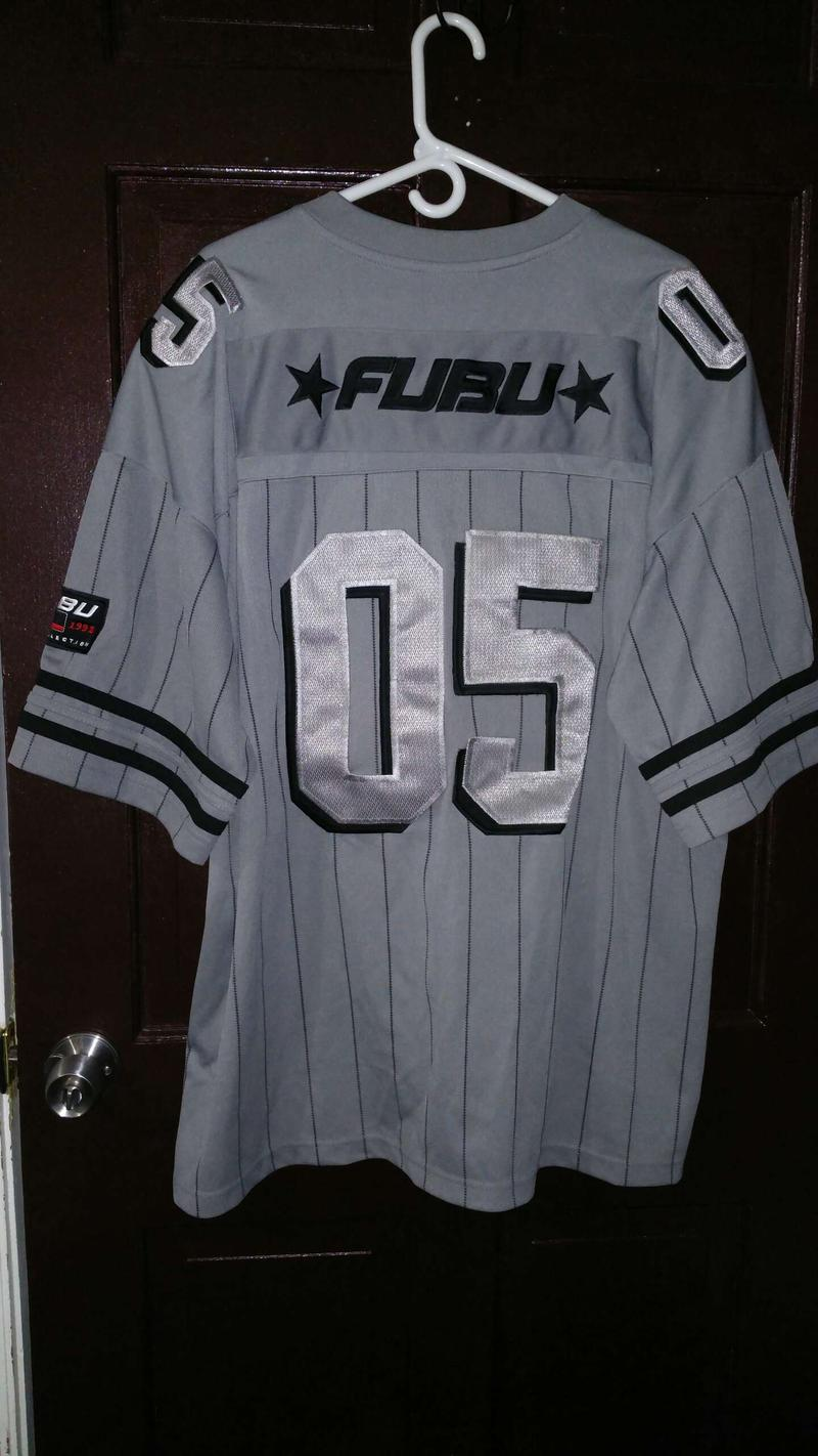 Fubu jersey and shirt package used limited edition