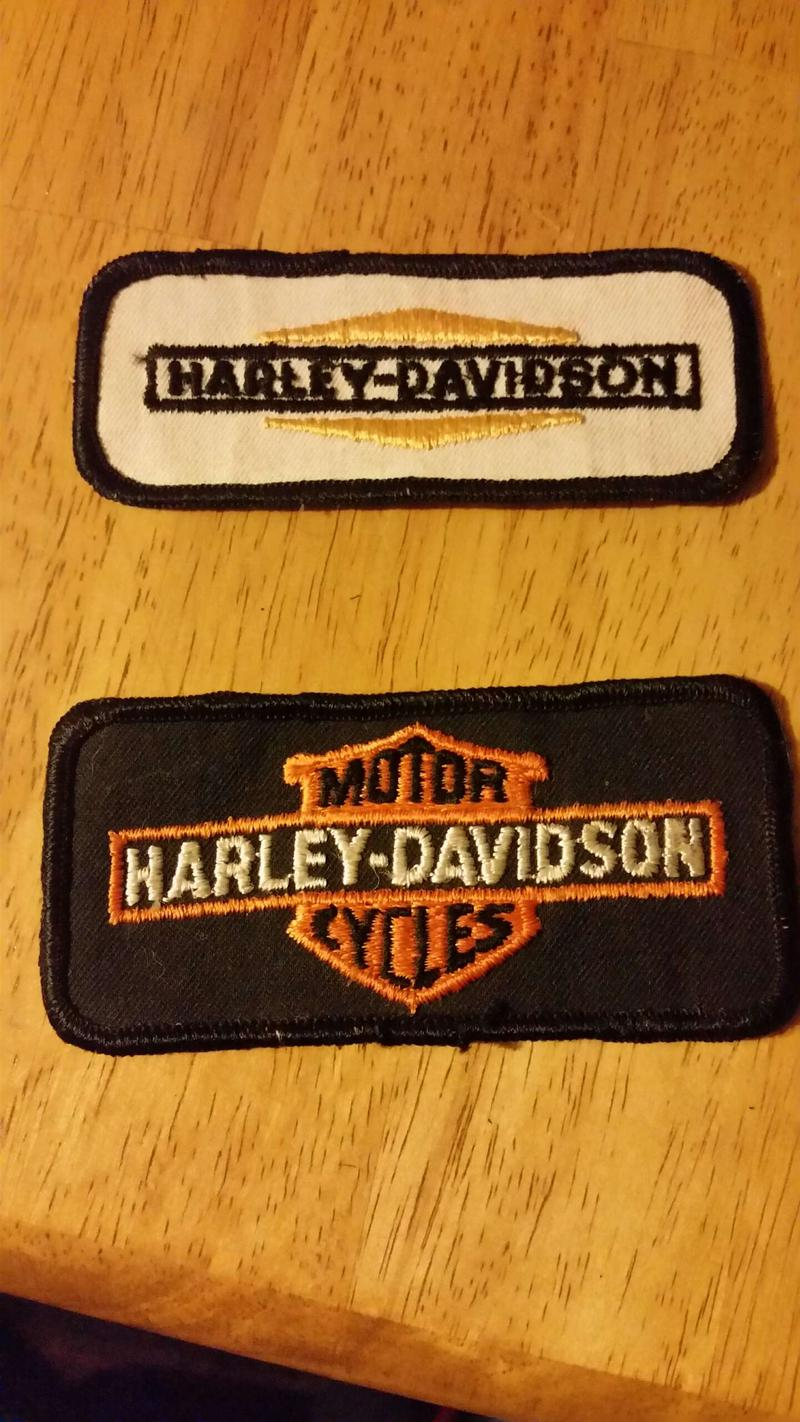 VINTAGE HARLEY DAVIDSON PATCHES