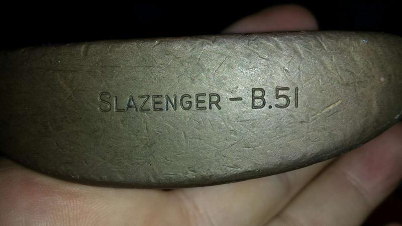 Photo Golf Putter, Slazenger B.51