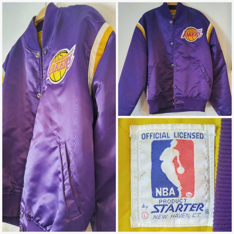 Vintage La Lakers Bomber Jacket By Starter For Sale In Brea Ca 5miles Buy And Sell
