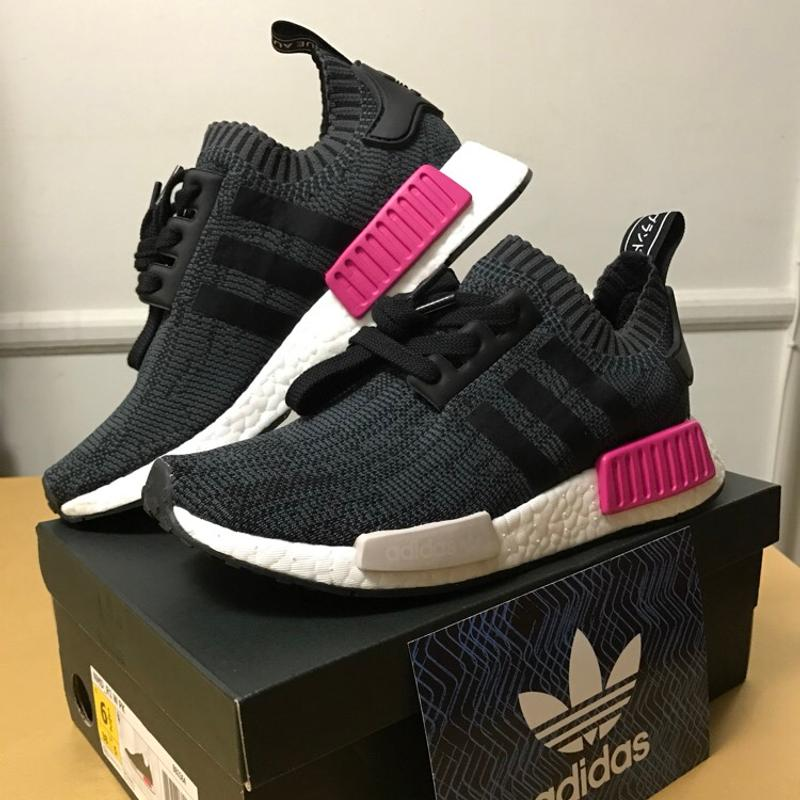 pink adidas shoes nmd r1