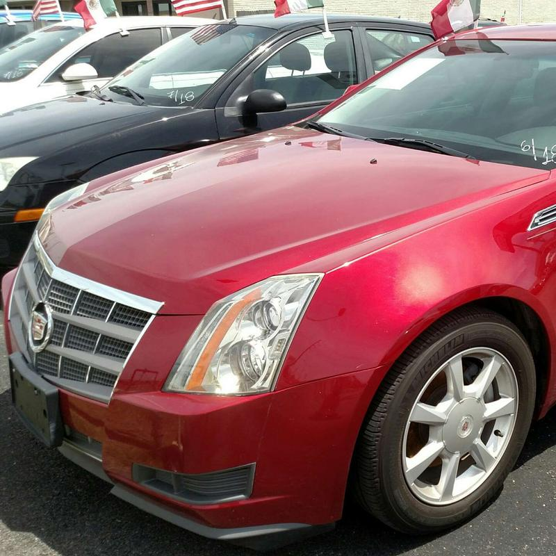 2009 Cadillac Cts Sedan 4D V-Series 6 Speed For Sale In