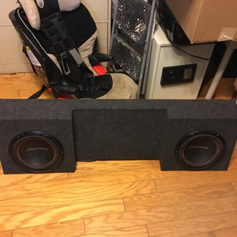 Photo Pioneer 10 subs in new box