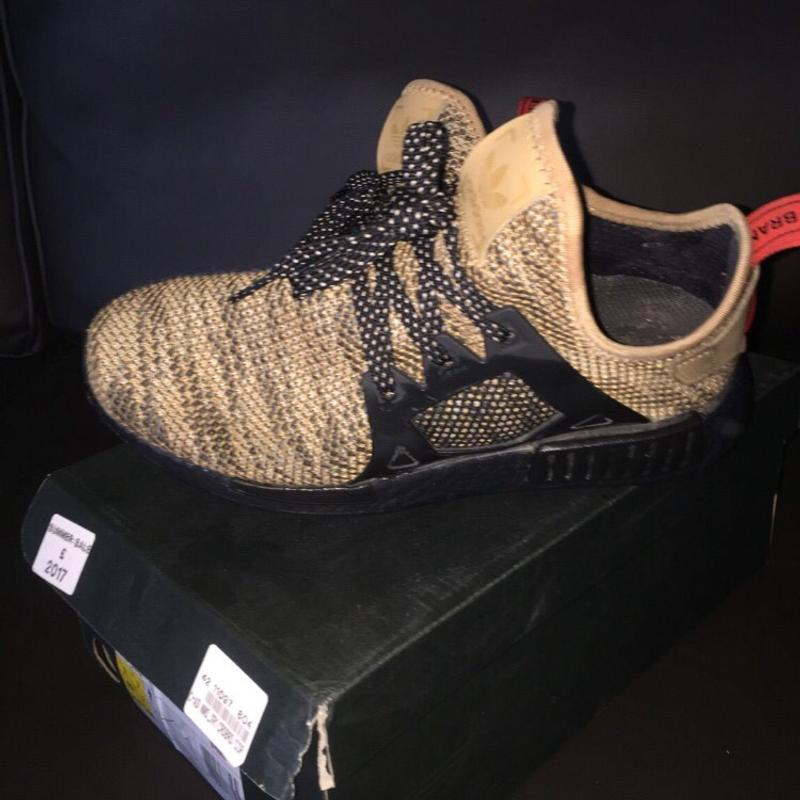 Adidas nmd rx1 black and brown for sale