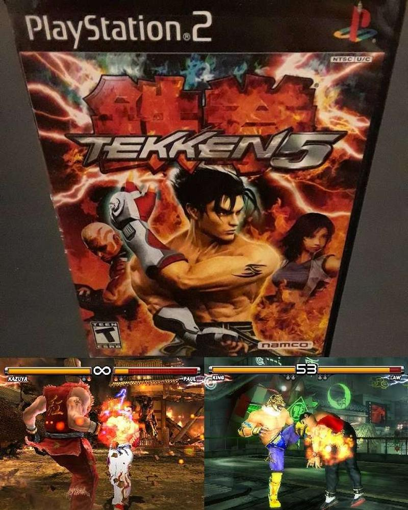 Tekken 5 Ps2 For Sale In Ridgewood Ny 5miles Buy And Sell