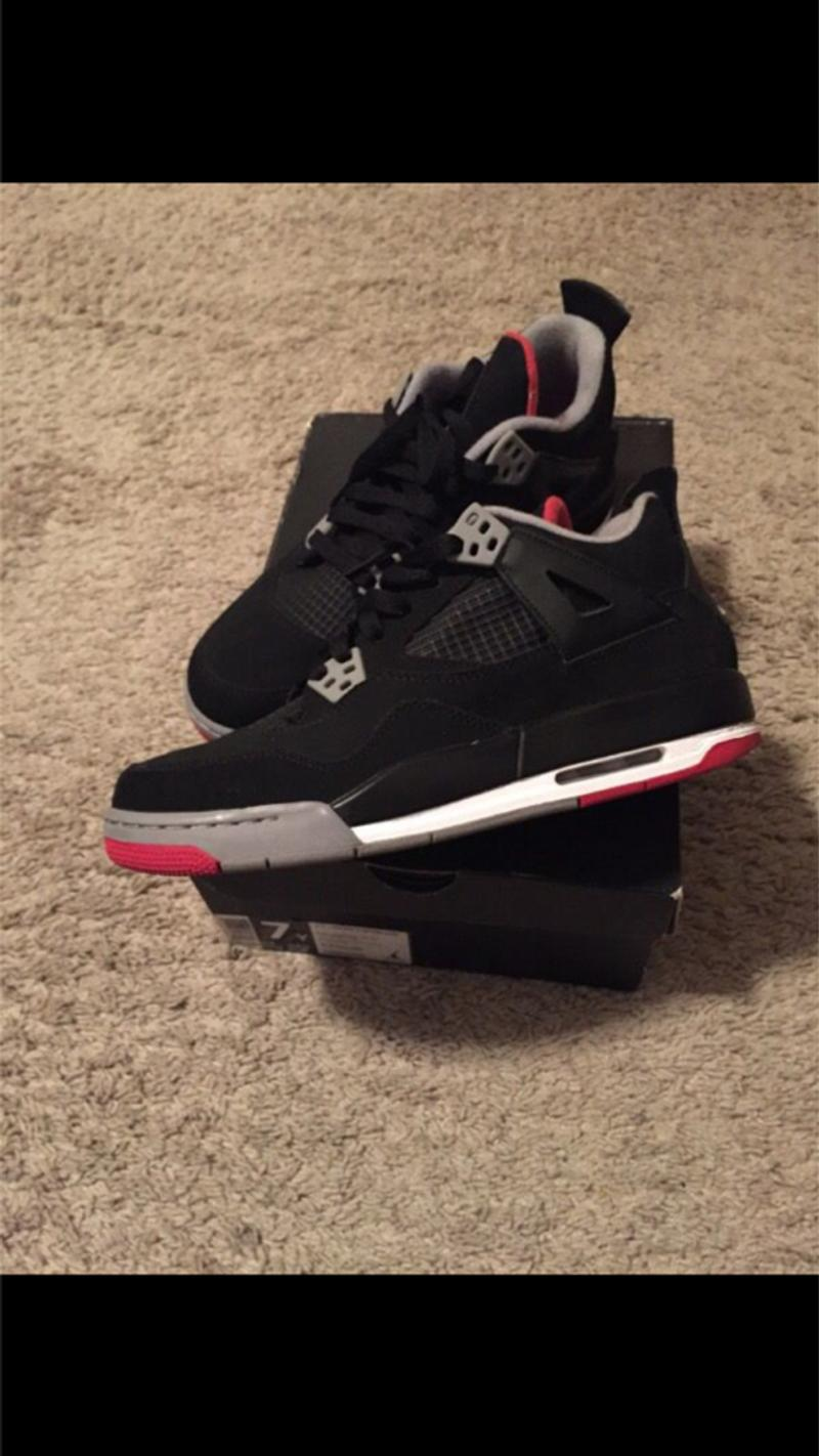 Jordan Retro Black Cement 4s for sale