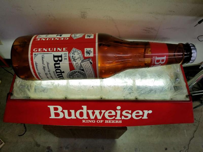Vintage Budweiser Pool Table Light Works Excellent For Sale In Irving Tx 5miles Buy And Sell