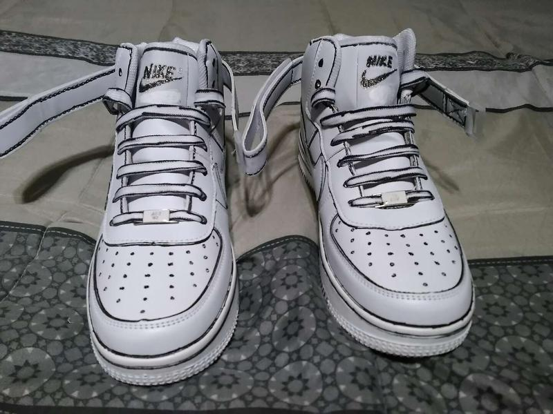 Nike Air Force One Cartoon Custom Size 10 Brand New For Sale