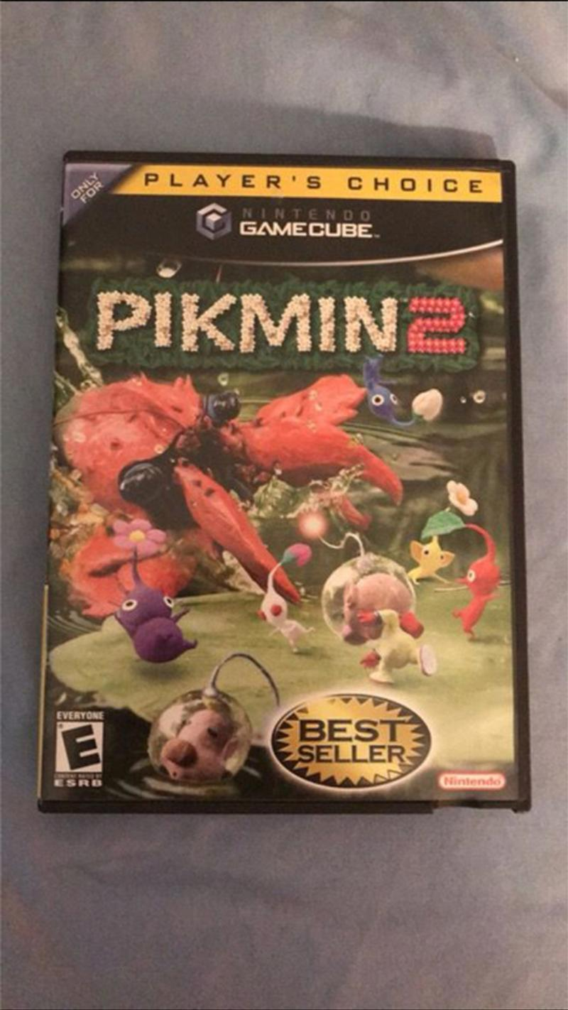 pikmin 2 gamecube for sale