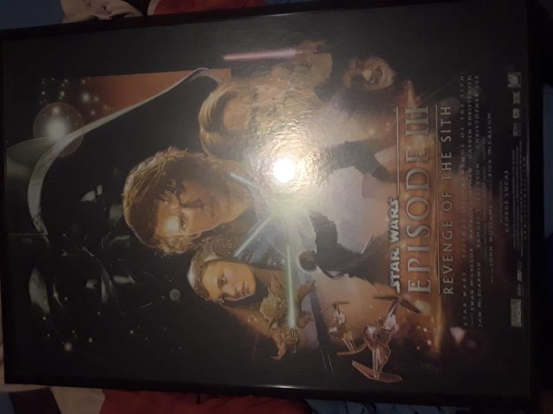 Framed Star Wars Iii Revenge Of The Sith Poster For Sale In Grand Prairie Tx 5miles Buy And Sell