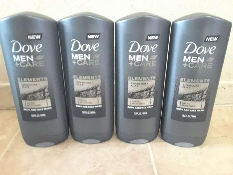 4 Each Cu 4 X 15 Dove Elements Charcoal Clay Mens Care Body Wash Jabon De H For Sale In Dallas Tx 5miles Buy And Sell