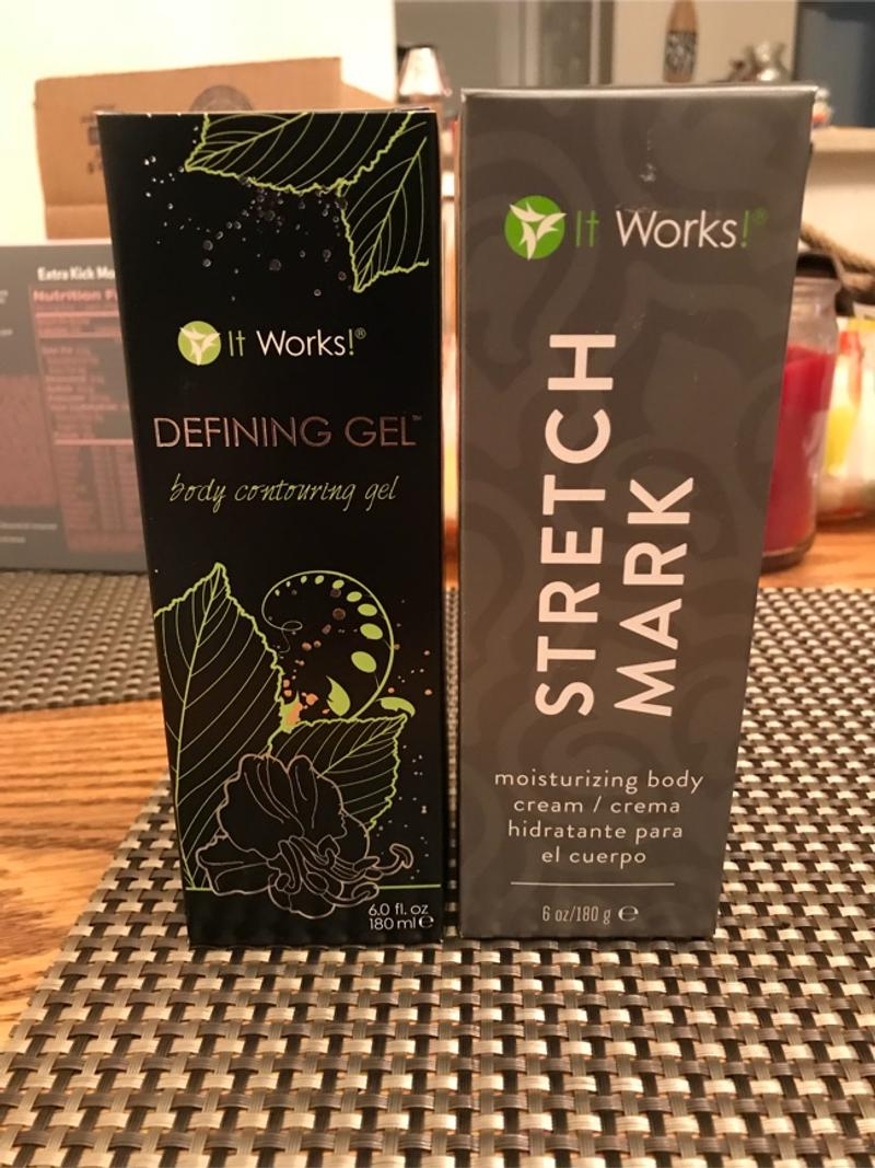 It Works Stretch Mark Cream And Defining Gel For Sale In Stafford