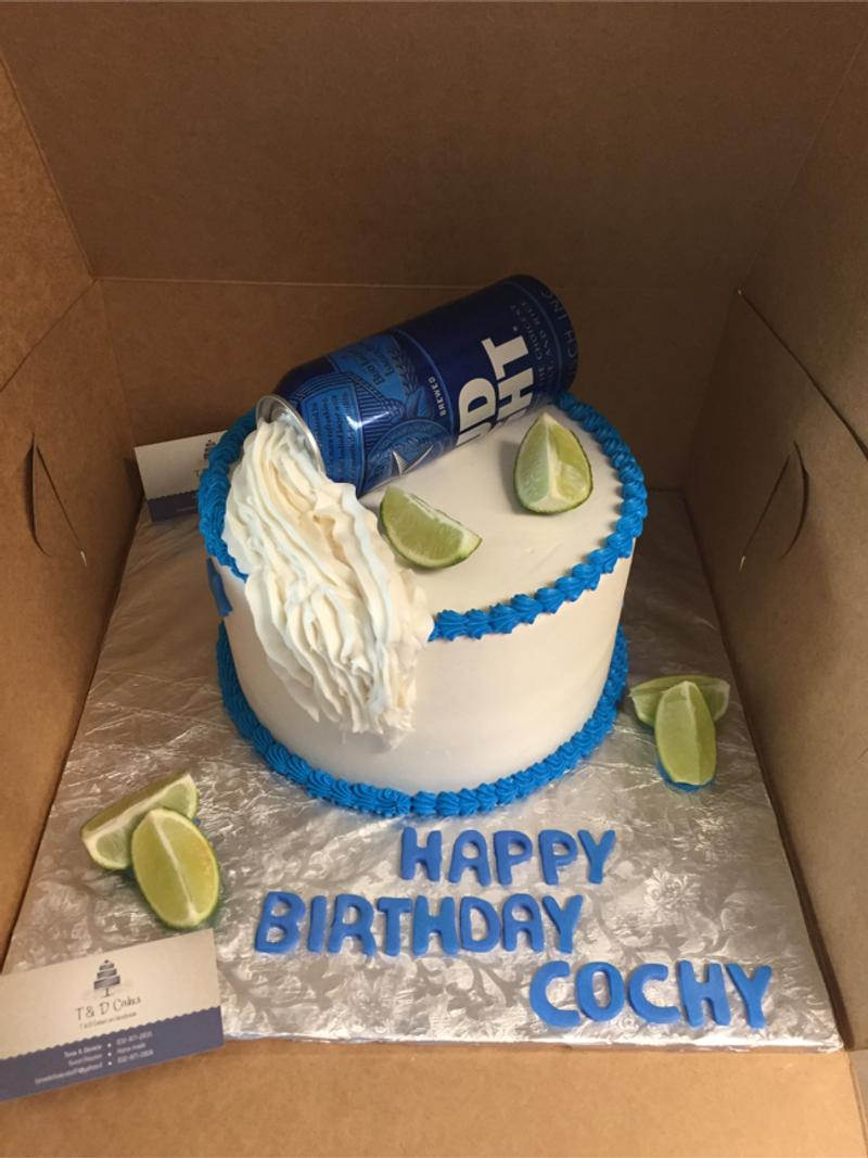 Stupendous Bud Light Cake By Td Cakes On Facebook For Sale In Houston Tx Funny Birthday Cards Online Elaedamsfinfo