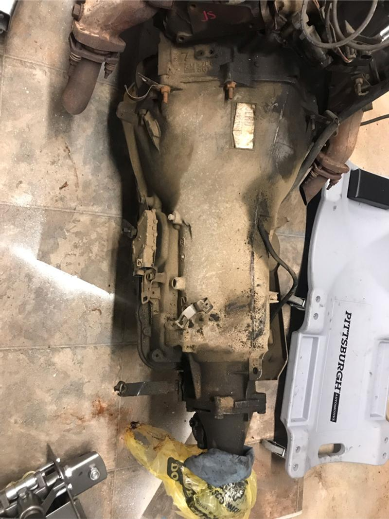 Photo Transmission out of a 95 Chevy pick up