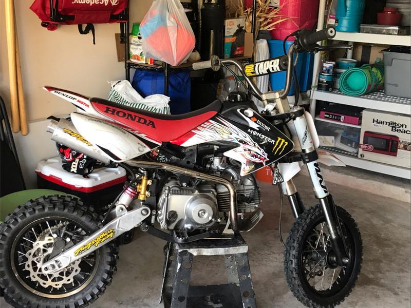 Photo Honda 80 cc Pit Bike