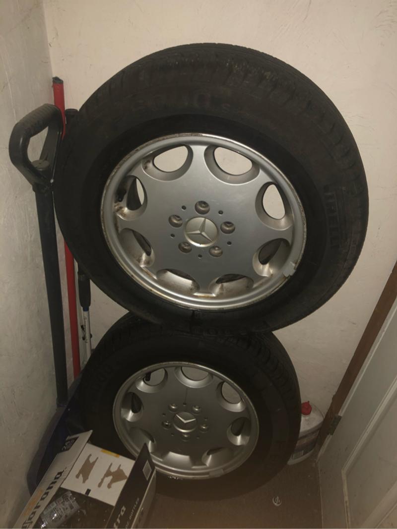 Photo Mercedes wheels