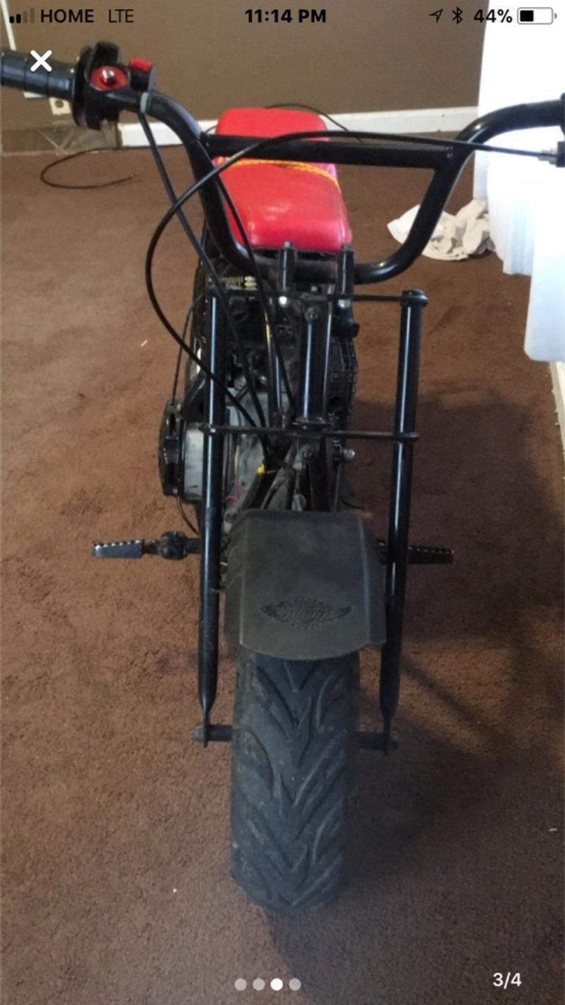 Photo Mini gas motor bike