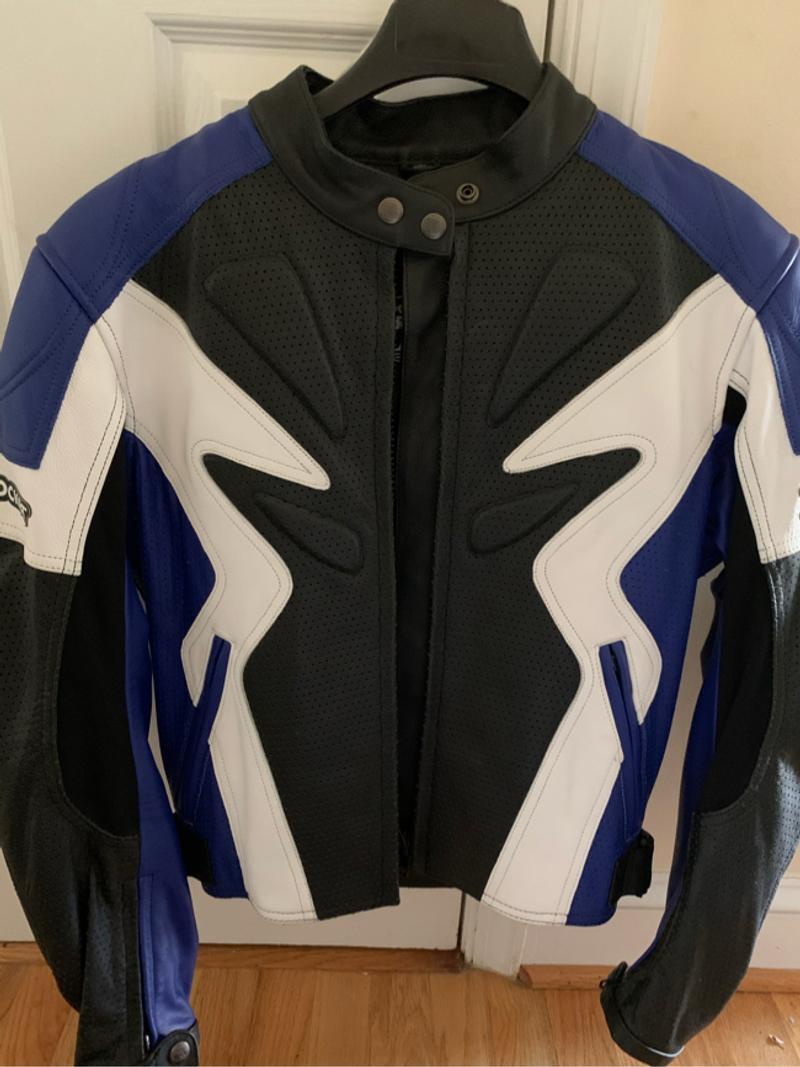 Photo Joe Rocket womens motorcycle leather jacket