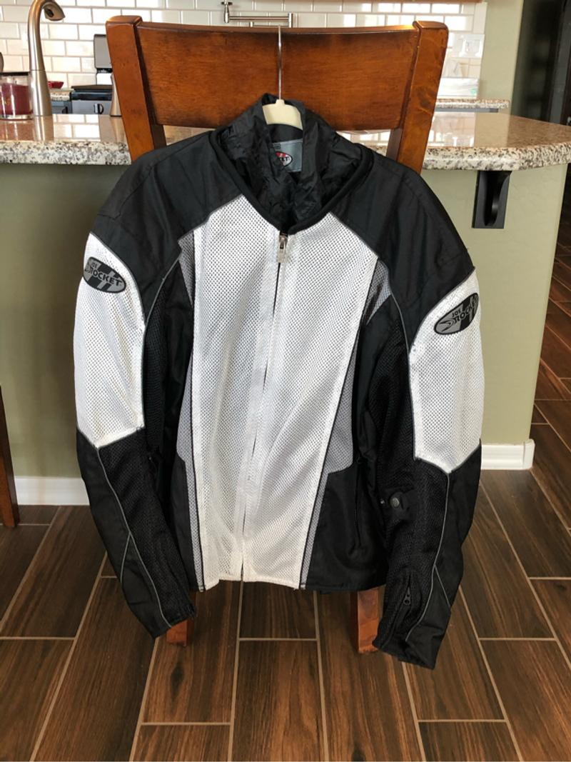 Photo Brand new mens Joe Rocket motorcycle jacket. Never worn.