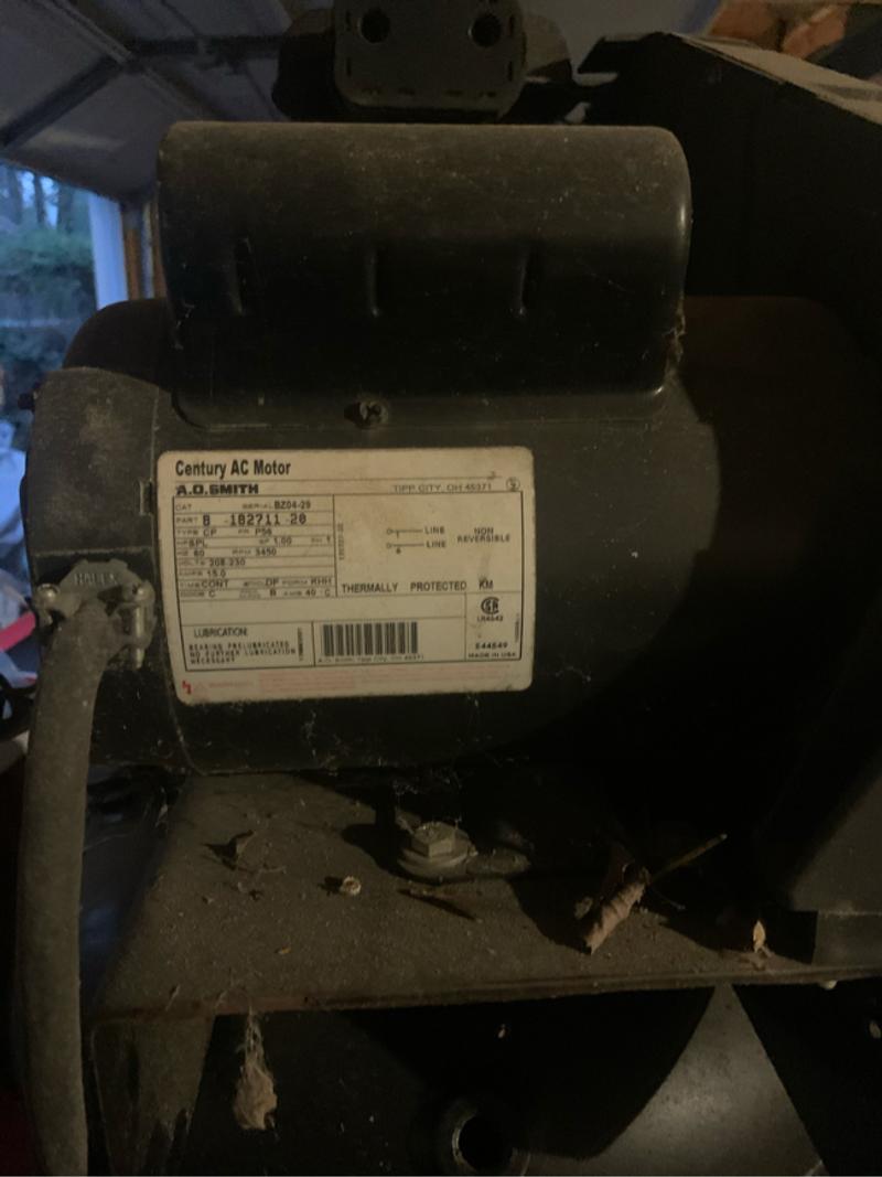 Photo Air Compressor NEEDS MOTOR