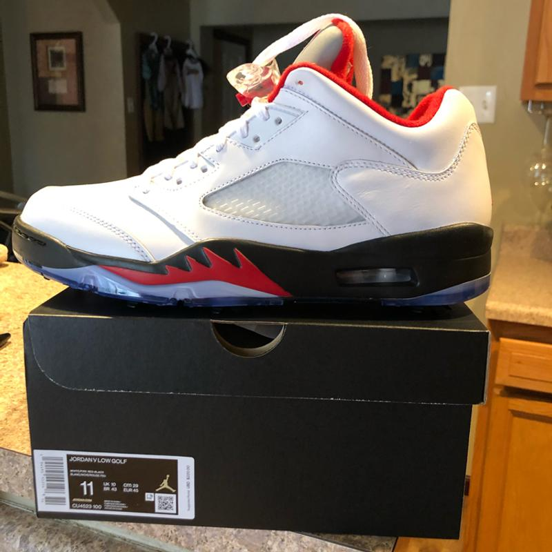 Photo Brand new. Jordan v low. Golf shoe. Size 11. Sold out.
