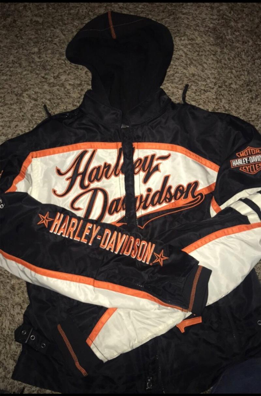 Photo Womens Harley Davidson Jacket