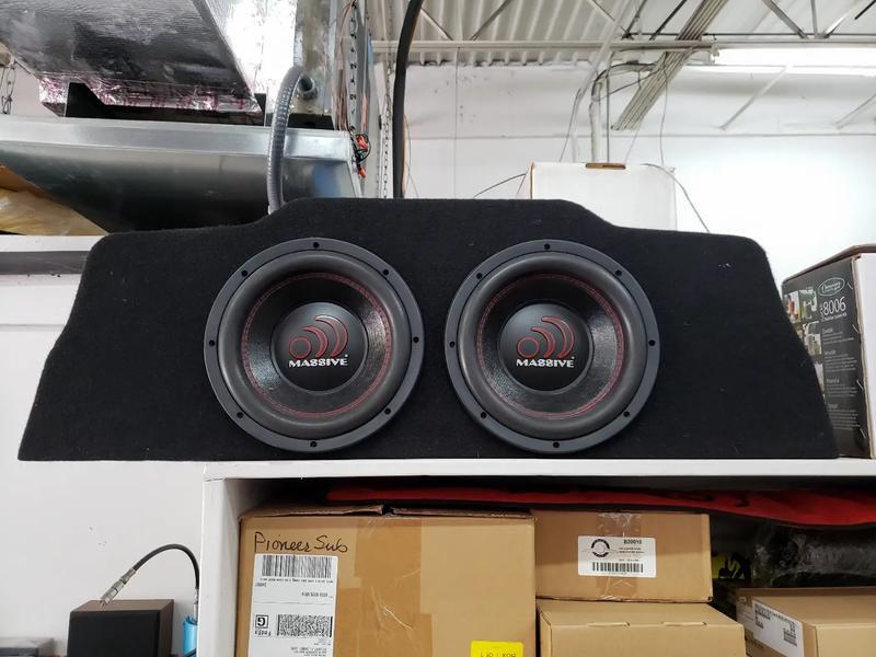 Photo Custom g37 coupe sub set up