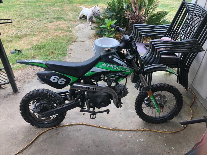 Photo 125 Apollo dirt bike