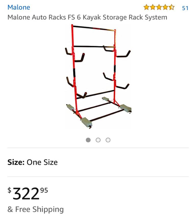 Photo Kayak rack. Open box never used
