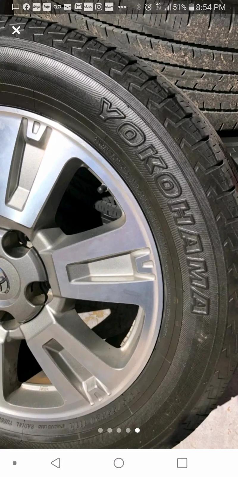 Photo 2017 Toyota Tundra wheels