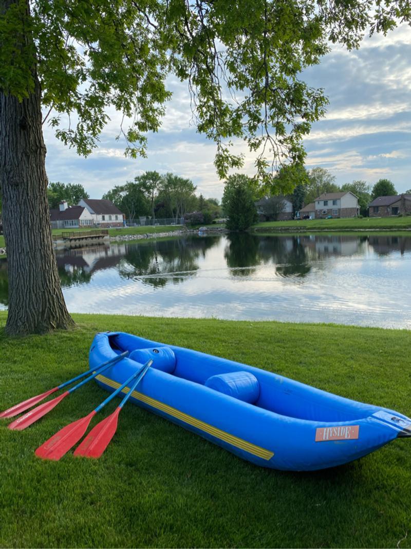 Photo Hyside White Water Water Canoe Raft