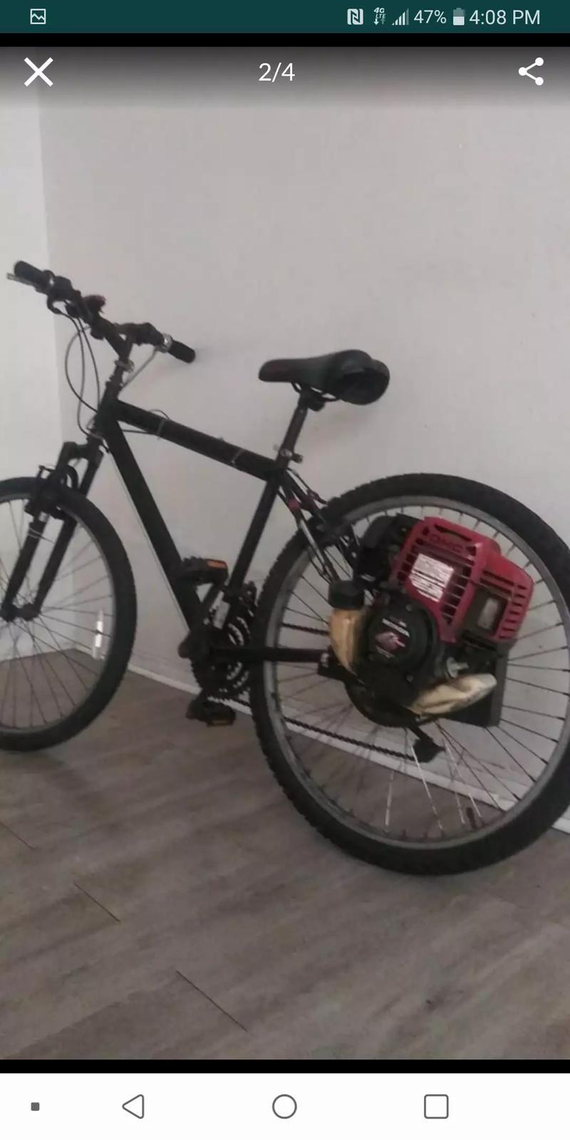 Photo Gas bike 35 cv honda 30 mph