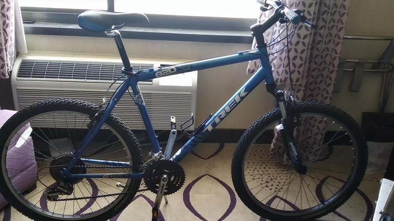 Photo Trek 820 21 frame 26 wheels Jett shocks